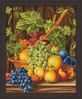 "Картина по номерам ""Сочный виноград"" (400х500 мм)"