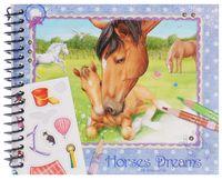 "Раскраска ""Creative Studio. Horses Dreams"" (+ наклейки)"