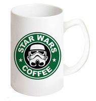 """Кружка """"Звездные войны. Star wars coffee"""" (белая; арт. 0010)"""