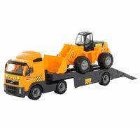 """Игровой набор """"Автомобиль-трейлер и трактор-погрузчик"""" (арт. 8831)"""