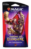 """Бустер """"Magic the Gathering. Throne of Eldraine. Красный"""" (35 карт)"""