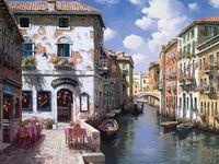 """Картина по номерам """"Венецианские дома"""" (400х500 мм)"""