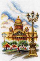 """Вышивка крестом """"Исаакиевский собор, г. Санкт-Петербург"""""""
