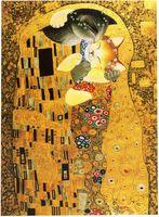 """Открытка """"Густав Климт. Объятия"""" (134)"""