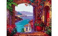 "Картина по номерам ""Романтичный вид на море"""