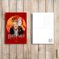 "Открытка ""Гарри Поттер"" (арт. 258)"