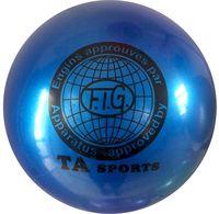 Мяч для художественной гимнастики RGB-101 (19 см; синий)