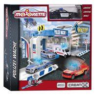 """Игровой набор """"Creatix. Парковка базовая. Полиция с машинкой"""" (арт. 212050001)"""