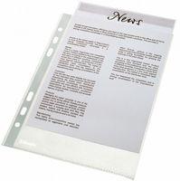 """Папка-карман (файл) """"Стандарт"""" А5 (48 микрон; 100 штук)"""