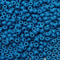 Бисер №33220 (темно-голубой)