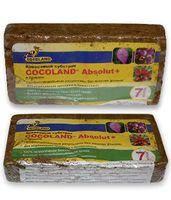 """Субстрат кокосовый для роз и орхидей """"Cocoland Absolut Plus"""" (7 л)"""