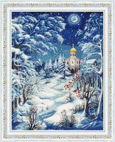 """Вышивка крестом """"Волшебница зима"""" (405х315 мм)"""