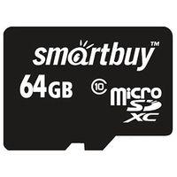 Карта памяти micro SDXC 64GB Smartbuy Class 10 UHS-1 (без адаптера)