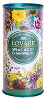 """Чай черный и зеленый листовой """"Lovare. Брызги шампанского"""" (80 г; в банке)"""