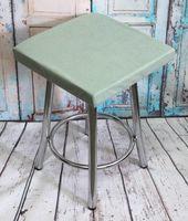 "Подушка на стул ""Velours Cuadro"" (33х33 см; мятная)"