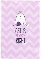 """Обложка на паспорт """"Right Cat"""""""