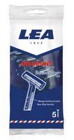 Станок для бритья одноразовый LEA Discount (5 шт)