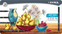"""Фломастеры """"LYRA Hi-Quality Art Pen"""" (40 цветов)"""