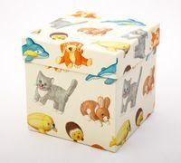 """Подарочная коробка """"Plush Pets"""" (11х11х11 см)"""
