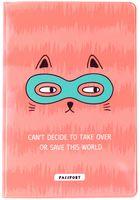 """Обложка на паспорт """"Spy Cat"""""""
