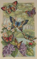 "Вышивка крестом ""Лес бабочек"" (арт. DMS-35223)"