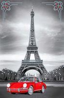 """Вышивка бисером """"Поездка в Париж"""""""