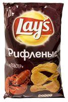 """Чипсы картофельные рифленые """"Lay's. Лобстер"""" (150 г)"""