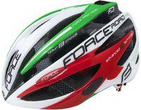 """Шлем велосипедный """"Road Pro Junior"""" (бело-зелёно-красный; р. XS-S)"""