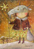 """Магнит на холодильник """"Коляда"""" (арт. 11.09)"""