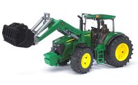 """Модель машины """"Трактор John Deere 7930 с погрузчиком"""" (масштаб: 1/16)"""
