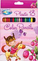 """Цветные карандаши """"Единорог"""" (18 цветов; 177 мм)"""