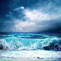 """Репродукция на холсте """"Море"""""""