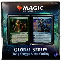 Magic the Gathering. Дуэльный набор: Jiang Yanggu vs Mu Yanling