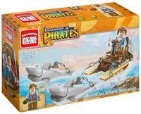 """Конструктор """"Legendary Pirates. Дрейфуя с акулами"""" (45 деталей)"""