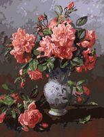 """Картина по номерам """"Розы в вазе"""" (500x650 мм; арт. MMC042)"""