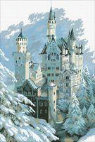 "Алмазная вышивка-мозаика ""Замок Нойшванштайн"" (450х670 мм)"