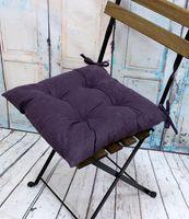 """Подушка на стул """"Velours"""" (42х42 см; фиолетовая)"""