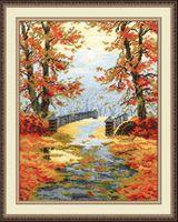 """Вышивка крестом """"Золотая осень"""""""