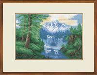 """Вышивка крестом """"Водопад"""" (350х230 мм)"""