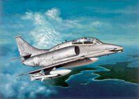 """Палубный штурмовик """"OA-4M Skyhawk"""" (масштаб: 1/72)"""