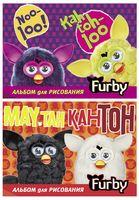 """Альбом """"Furby"""" (А4; 40 листов)"""