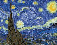 """Алмазная вышивка-мозаика """"Звездная ночь"""""""