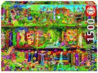 """Пазл """"Таинственный сад"""" (1500 элементов)"""