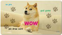 "Игровой мат ""Doge"" (650х350 мм)"