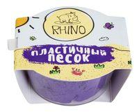 """Кинетический песок """"Rhino"""" (фиолетовый; 50 г)"""