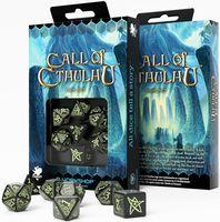 "Набор кубиков ""Call of Cthulhu"" (7 шт.; черный)"