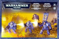 Warhammer 40.000. Space Marines. Terminator Squad (48-10)