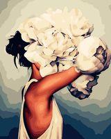 """Картина по номерам """"Мифология женской красоты. Нежность"""" (400х500 мм)"""