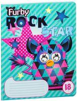 """Тетрадь в линейку """"Furby"""" 18 листов"""