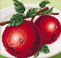 """Алмазная вышивка-мозаика """"Яблоки"""""""
